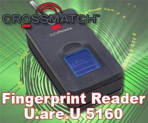 PIV Certified Fingerprint Reader Crossmatch U.are.U 5160
