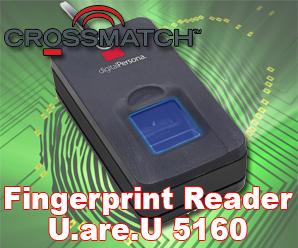 PIV Certified Fingerprint Reader Crossmatch U.are.U 5160