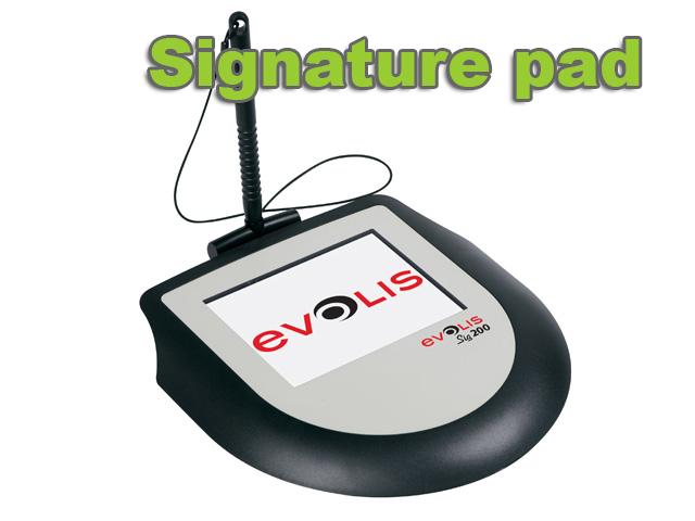 Evolis Signature pads Sig100 - Sig 200