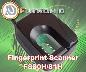 Fingerprint Scanner Futronic FS80H/81H