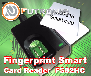 Fingerprint Smart Card Reader Futronic FS82HC