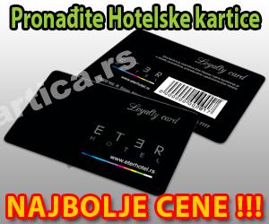 Hotelske kartice