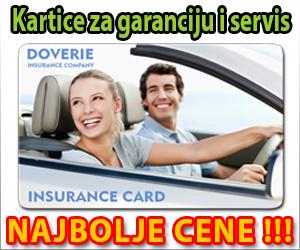 Kartice za garanciju i servis