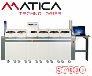 Embosser Matica S7000 with printer