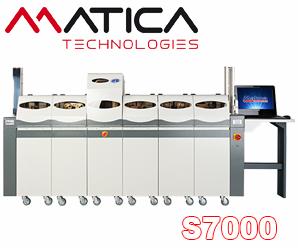Embosser Matica S7000 with printer