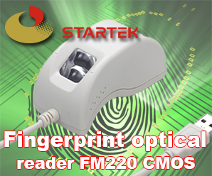 Fingerprint optical reader Startek FM220 CMOS