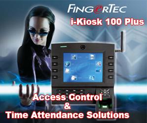 FingerTec i-Kiosk 100 Plus
